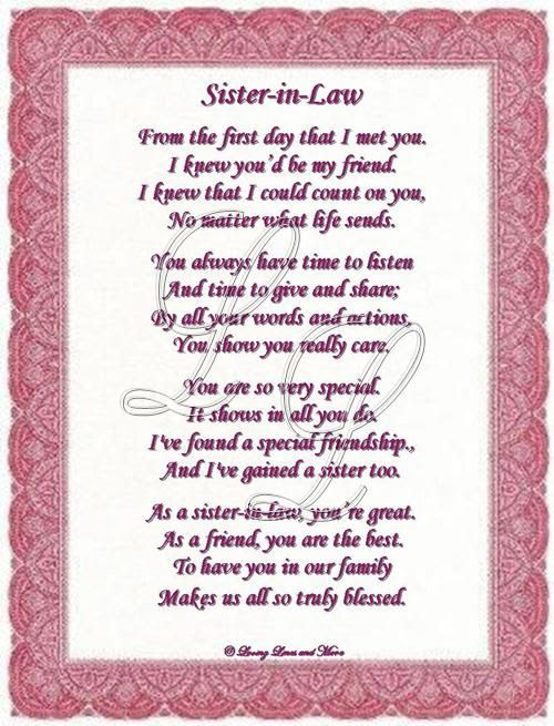 Quotes About Your Sister In Law 20 Quotes