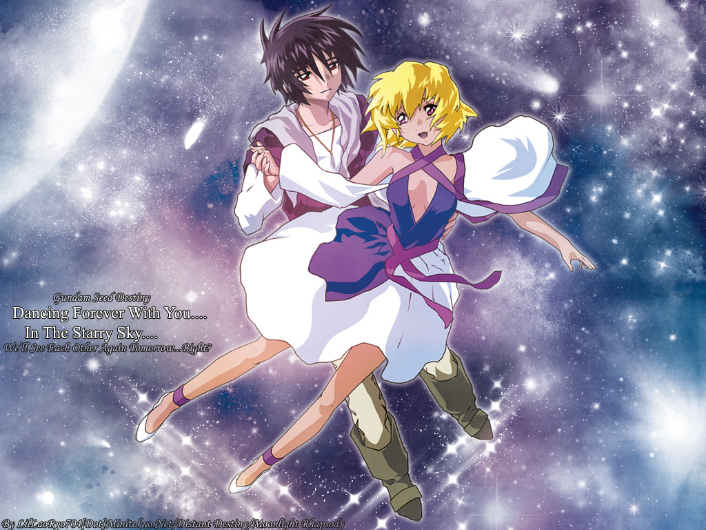 Mobile Suit Gundam Seed Destiny Wallpaper Dancing In The