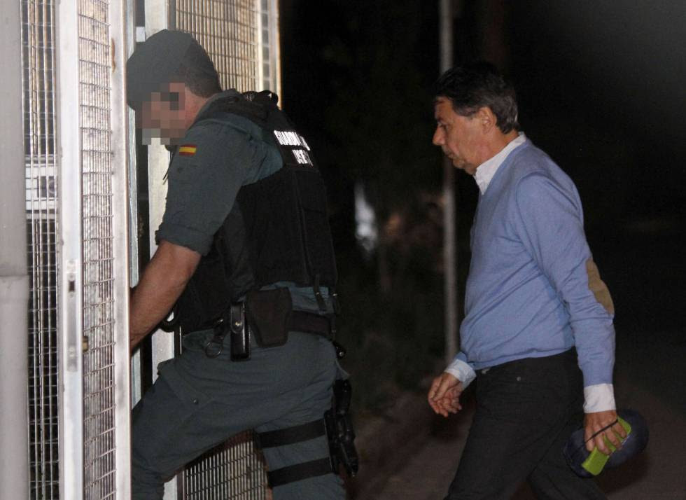 Former Madrid premier Ignacio González was arrested on Wednesday.
