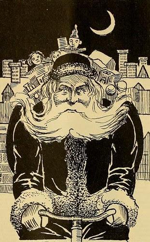 Santa On Bike (1896, Cycling Life)