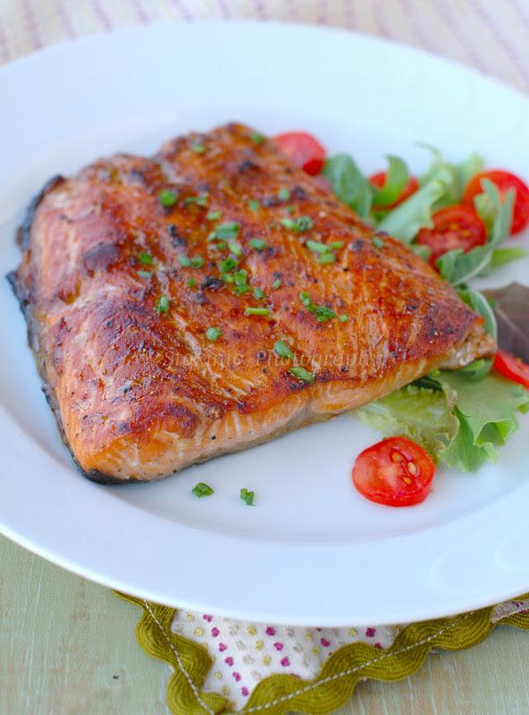 Salmone Al Grill