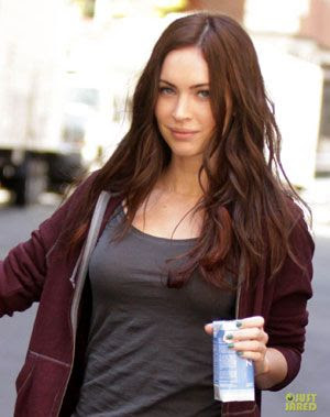 Megan Fox as April O'Neil in TEENAGE MUTANT NINJA TURTLES.