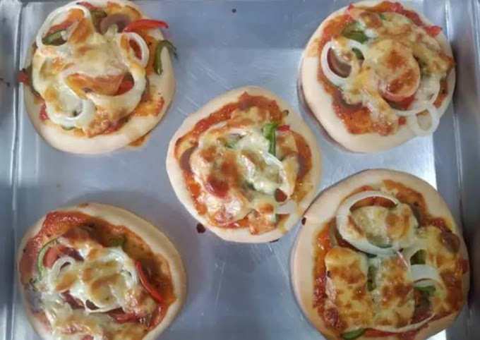 Resep Mudah Dough Pizza Anti Ribet