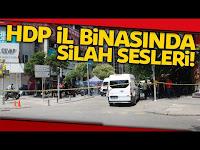 HDP İzmir İl Binasında Silah Sesleri :1 Ölü - İhlas Haber Ajansı