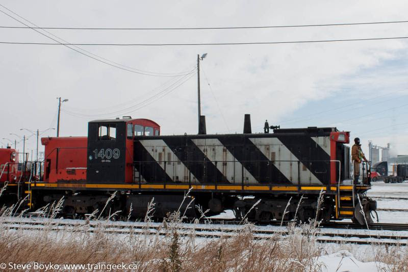 CN 1409 in Calgary, AB