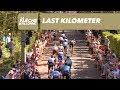 Vídeo del último km de la Flecha Valona 2018