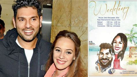 Yuvraj Singh and Hazel Keech's wedding: A sneak peek into