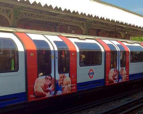 Get Ahead of the Games Tube Train by Shell