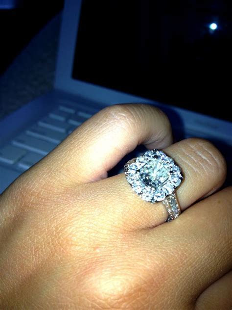 One year later & still love my engagement ring