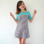 Short Sleeved Coco Dress