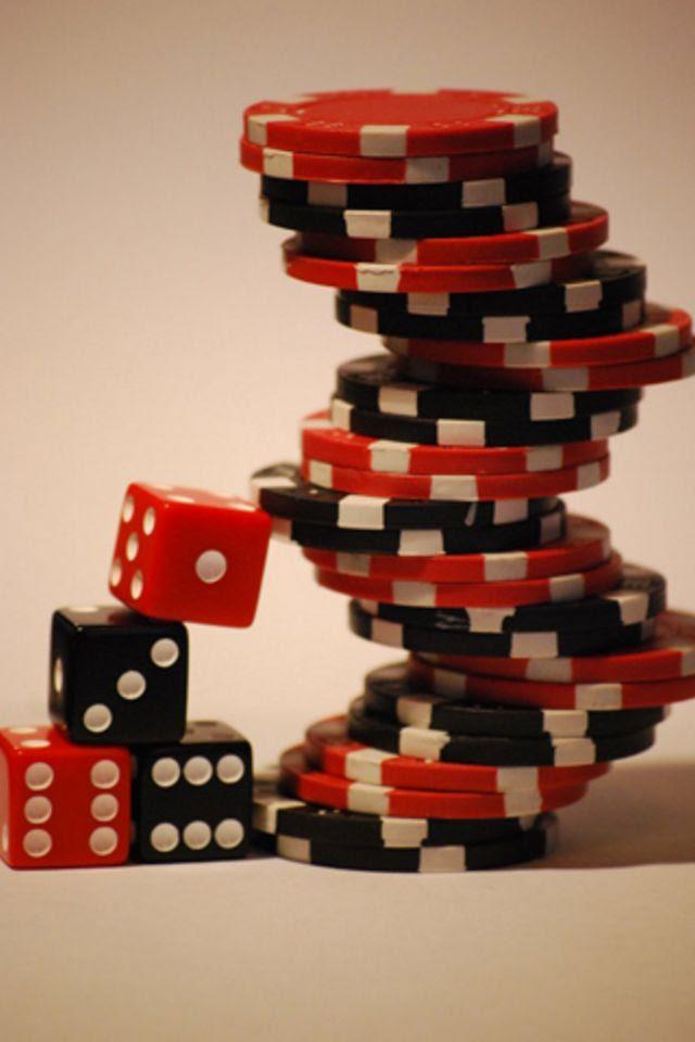 Poker Chips iPhone Wallpaper HD