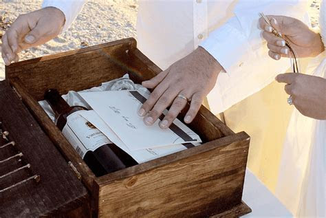 What is the Love Letter and Wine Box Ceremony   Sample