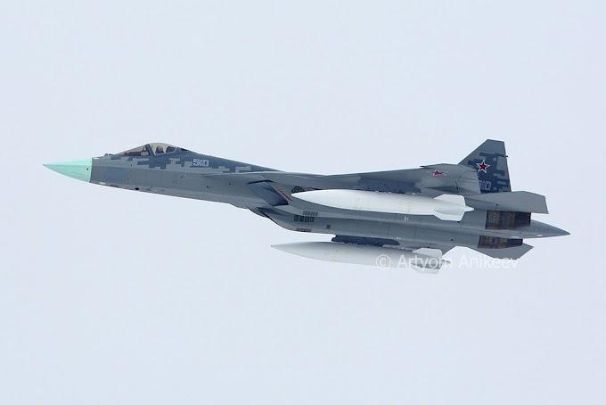 Су-57, с почином!!!