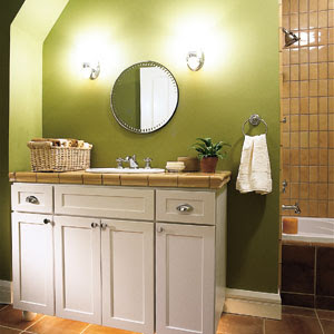 the Bath Showcase: A Lesson in Bathroom Lighting | Bathroom ...
