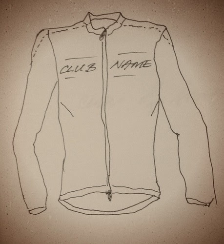 Wool Cycling Jersey, Front