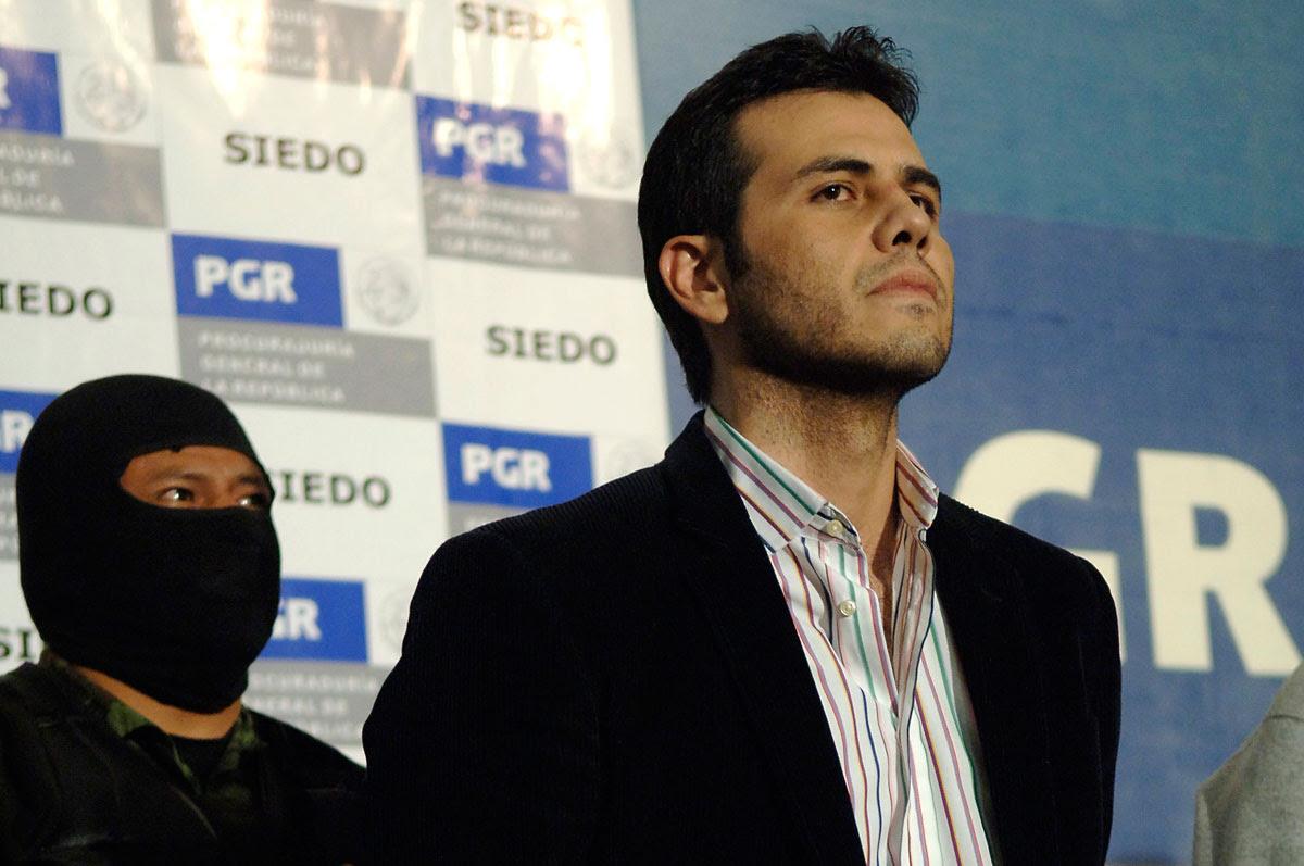 """Jesús Vicente Zambada Niebla """"El Vicentillo"""". Foto: Miguel Dimayuga"""