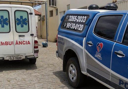 Ocupantes da moto foram socorridos para o hospital de Santaluz | Foto: Notícias de Santaluz/ Arquivo