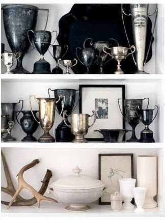 Vintage Find: Trophies from Honeycomb Creative Co.