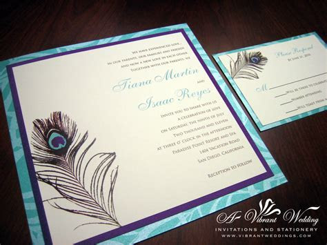Purple Wedding Invitation ? Page 2 ? A Vibrant Wedding
