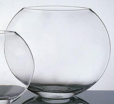 Round Glass Vase 10in