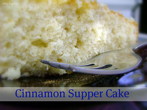 Cinnamon Supper Cake