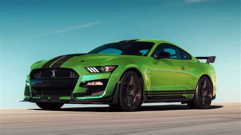 ford mustang  grabber lime paint  honor  st paddy