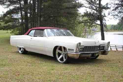 Buy used 1968 Cadillac Deville Convertible Custom Mint ...