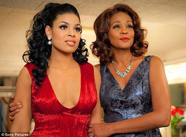 Como mãe e filha: Jordin Sparks e Whitney Houston estrela no remake de 2012 de A Sparkle