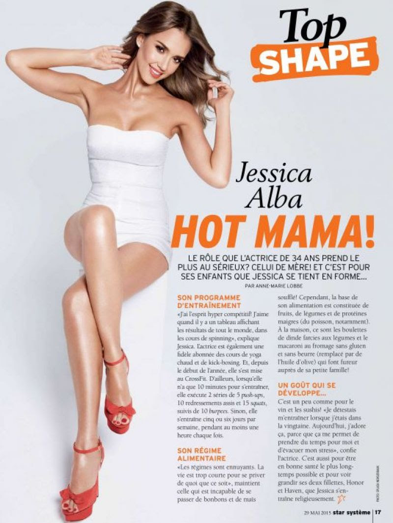 JESSICA ALBA - Star Systeme France, May 2015
