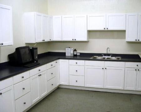 White Thermofoil Kitchen Cabinets - Home Cabinets Design