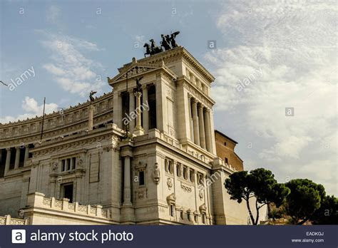 Victor Emmanuel Monument Rome Stock Photos & Victor
