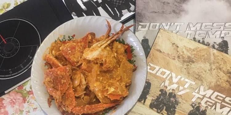 Resep Kepiting Saos Padang EXO Oleh Kimkai