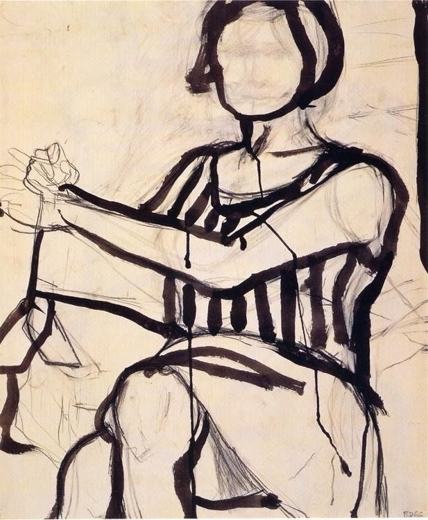 dionyssos:  Richard Diebenkorn , ink