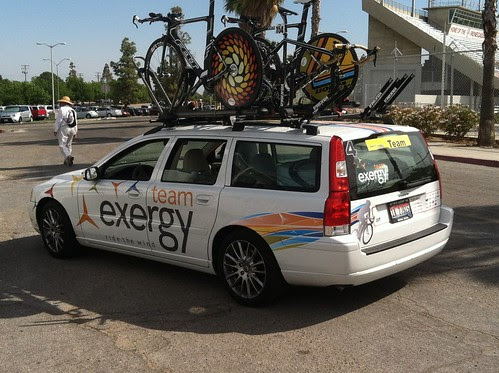 Amgen Tour of California – Stage 5 Individual Time Trial by Team Exergy
