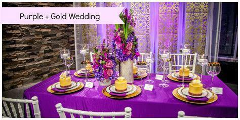 Purple Wedding With Gold Accents   Edmonton Wedding