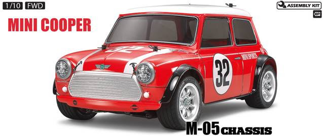 Rc Mini Cooper Racing Item 58438