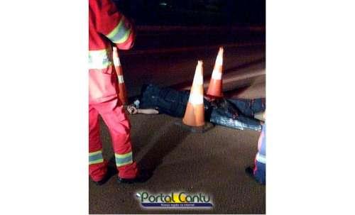 Guaraniaçu - Homem é atropelado e morre na BR 277