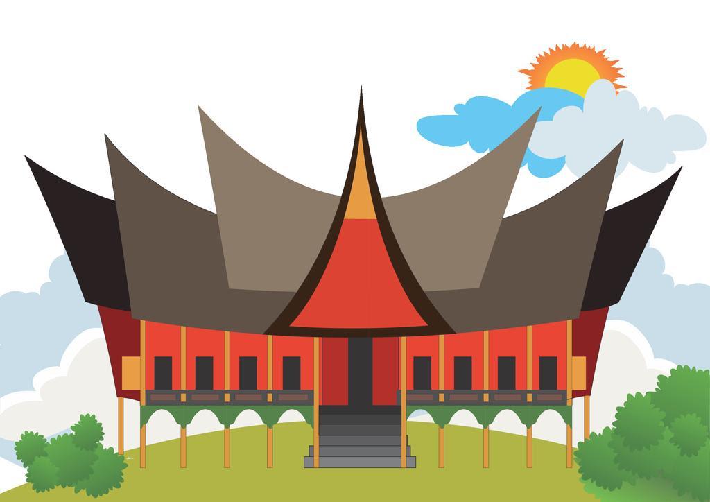 43 Gambar Rumah Adat Di Indonesia Kartun Terbaru