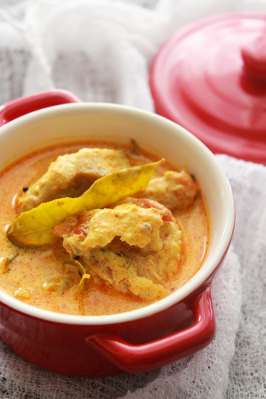Creamy Tomato & Coconut fish Curry