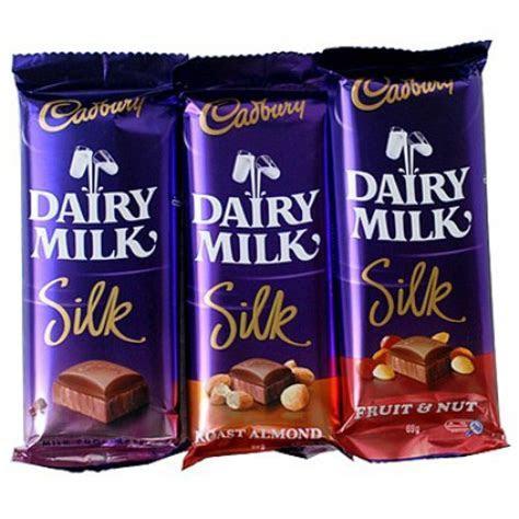 Cadbury Dairy Milk Silk Assorted ? 3 Medium Sized