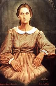 mother of US President Abraham Lincoln