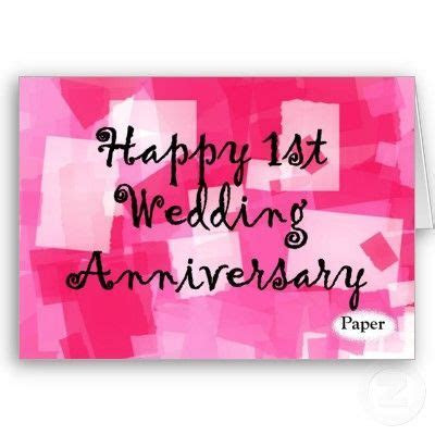 25  best ideas about 1st Wedding Anniversary Wishes on