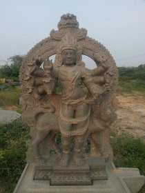 statue of kaala samhara bairavar