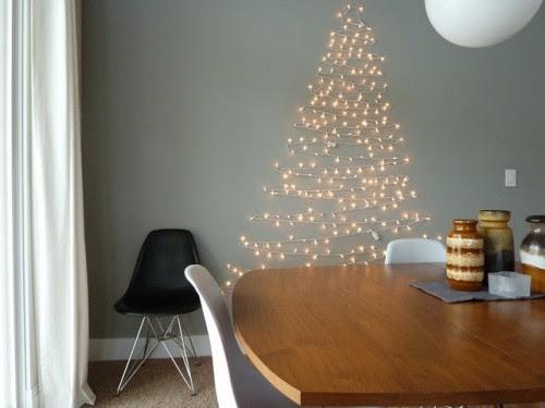 - Christmas Light Wall Tree Christmas Ideas