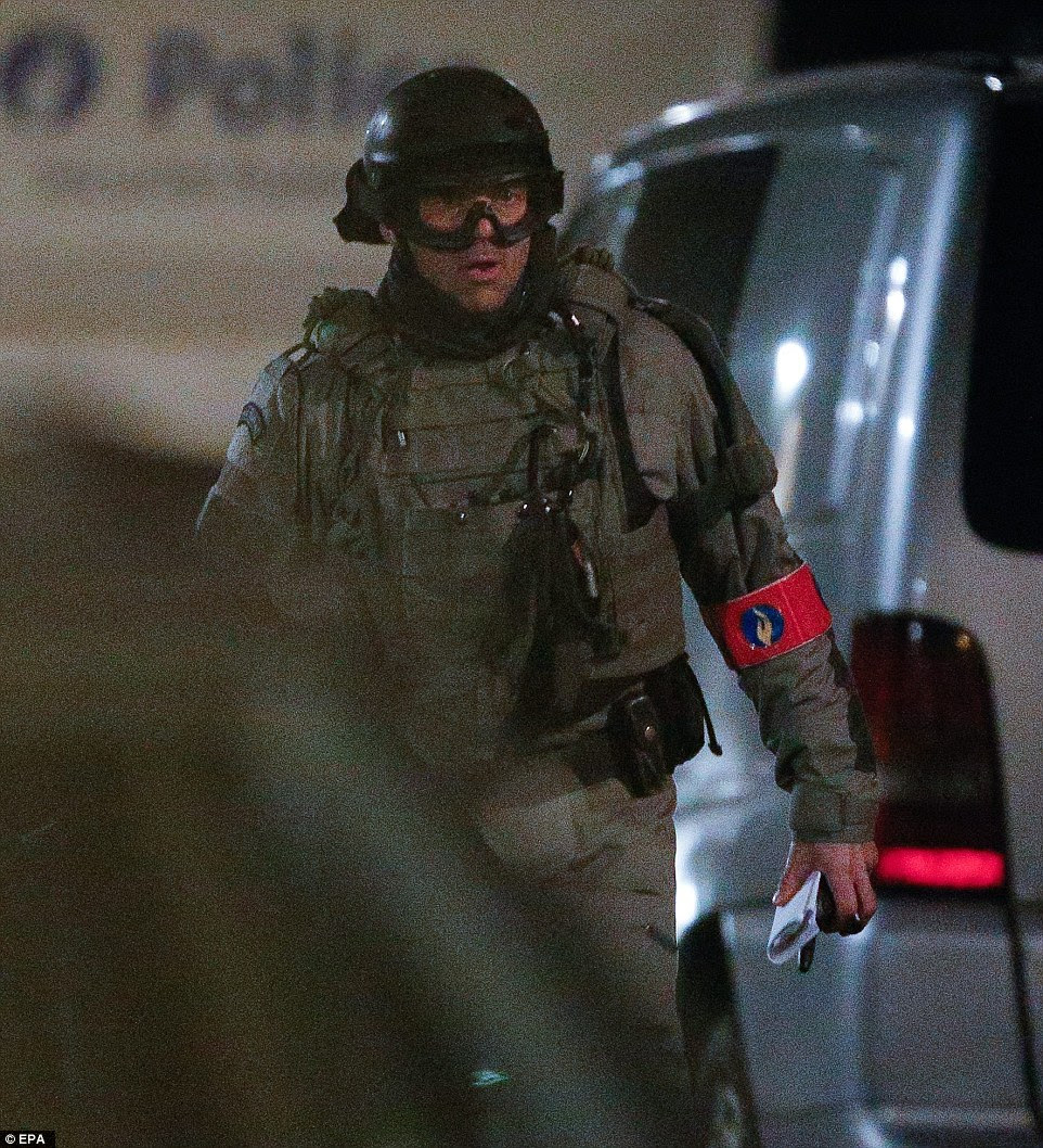 Anti-terror police: Detectives found an ISIS flag, chemical products and another nail bomb at a house during a raid inSchaerbeek tonight