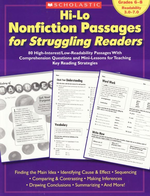 Mari Inc Workbooks Reproducibles Nonfiction Reading Workbooks