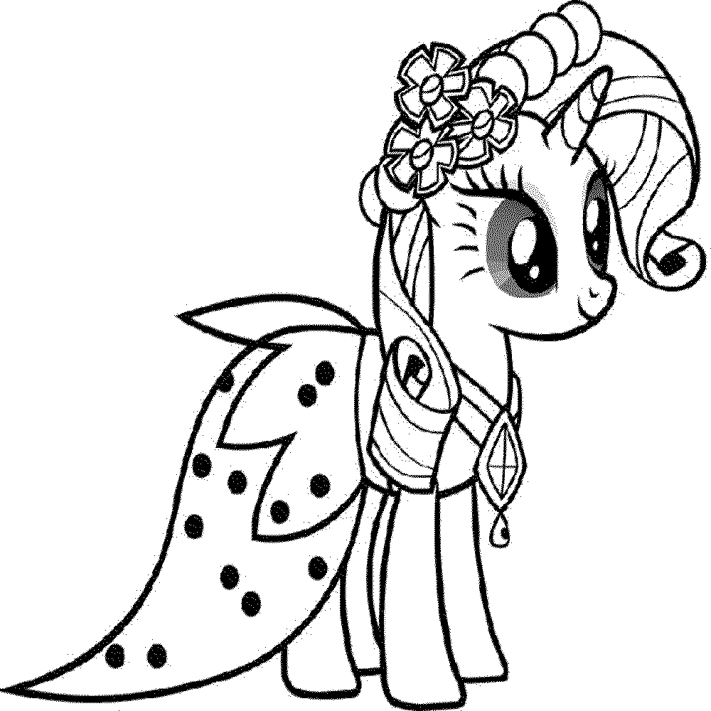 My Little Pony Coloring Pages Fluttershy At Getdrawingscom Free