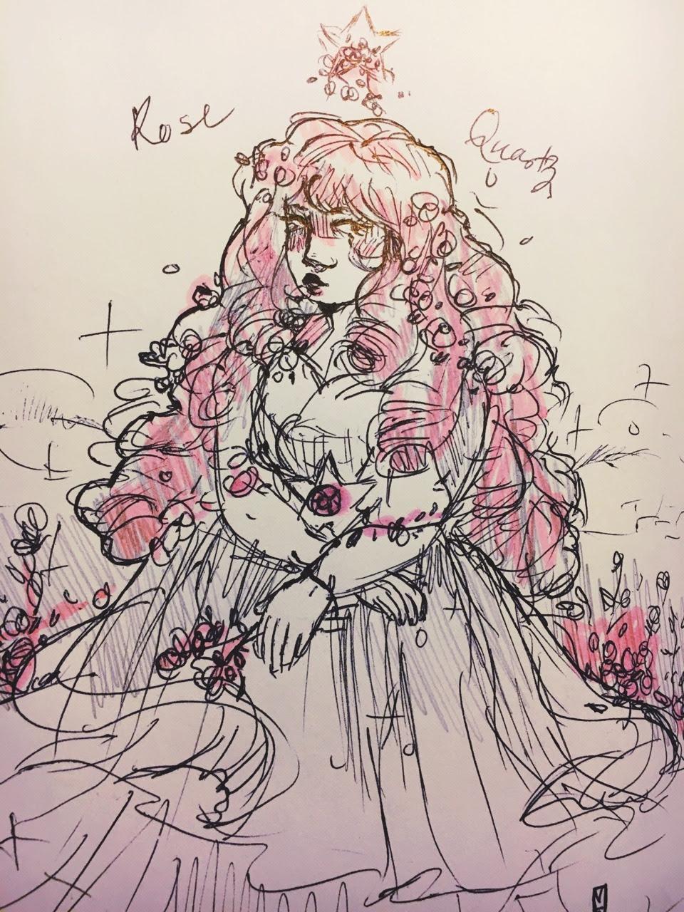 rose for inktober 24!