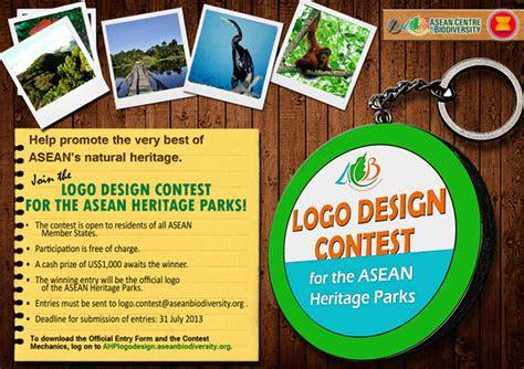 logo design contest  asean heritage parks asef culture