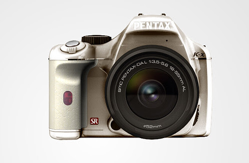 Pentax K-X color selection SilverLimited